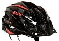 AWE Aerolite casque vélo noir et rouge