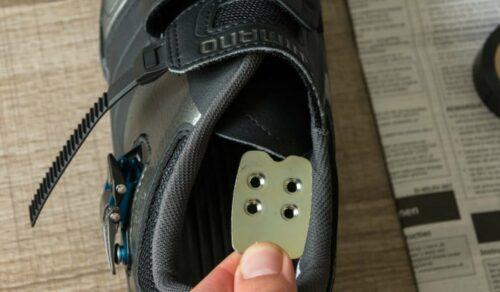 Contreplaque de renfort à mettre dans la chaussure de vélo route