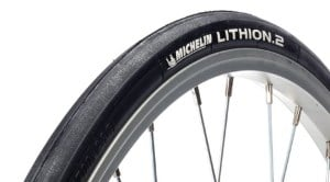Un pneu vélo de route Michelin Lithion 2