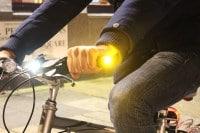 Clignotants pour guidon vélo