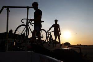 vélo cycliste soir