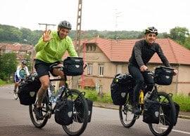 Portrait de Loïc pour son blog Autour du vélo