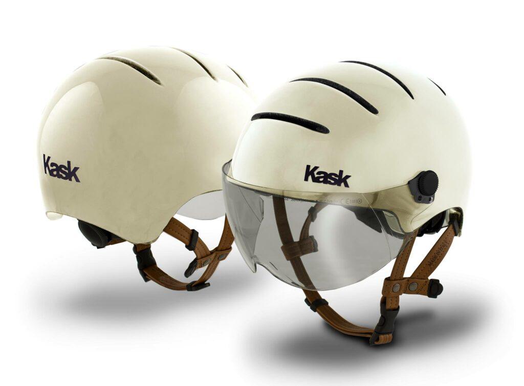 Présentation face et arrière d'un casque aéro KASK