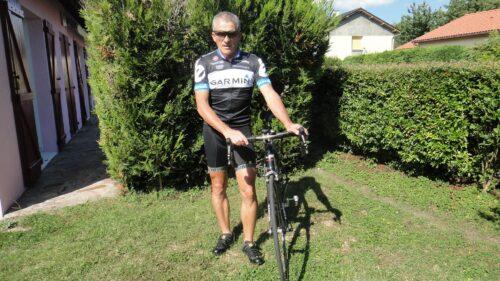 Portrait de Michel pour son blog Veloblan