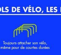 Infographie conseils antivol vélo