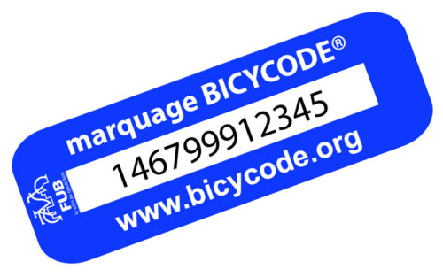 Logo du marquage Bicycode
