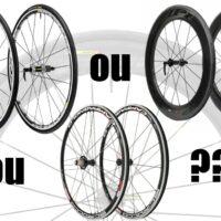 Différents types de roues : profil haut, légères ou pour plaines