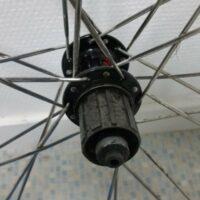 Vue de la roue libre de ma roue de vélo