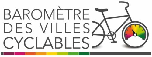 Logo du baromètre des villes cyclables