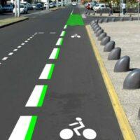 Une superbe piste cyclable à La Réunion