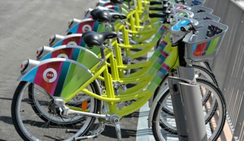 Les vélos Optymo à Belfort