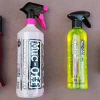 Produits nettoyants pour l'entretien de mon vélo