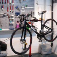 L'atelier de vélo dans l'hotel Garni La Meridiana - Swiss Bike Hotel