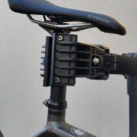 La machoire de fixation pour tenir le vélo en l'air