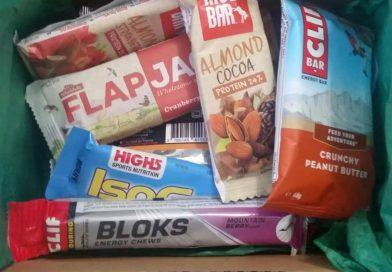 La BOX du Pedaleur remplit de bonnes choses pour bien s'alimenter