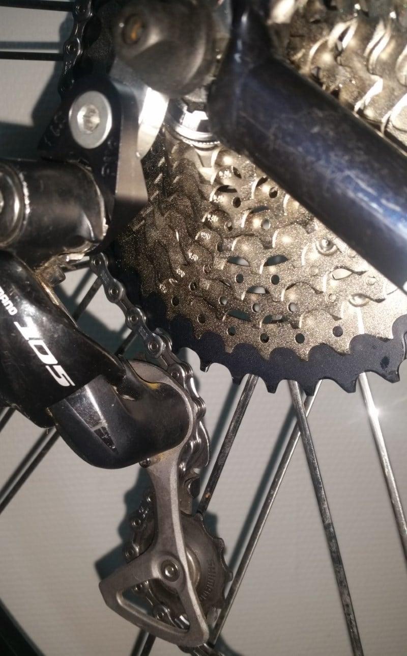 Mon cyclocross LaPierre FDJ équipé en Dura-Ace
