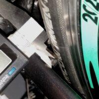 Espace de 8mm entre le cadre et le pneu GP 4000 SII