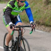 Les gants d'été lors des compétitions à vélo