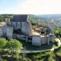 Le chateau de la Madeleine dans la vallée de la Chevreuse