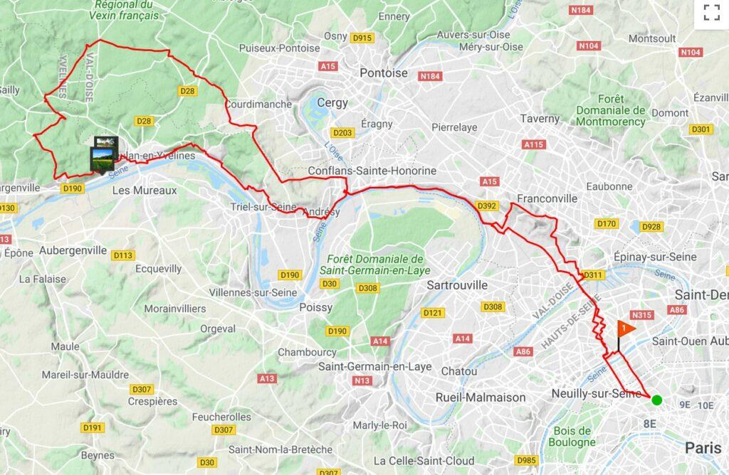 A la découverte du Vexin à vélo