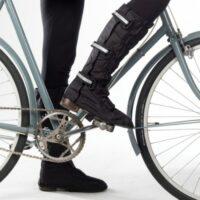 Des sur-chaussures pour se protéger de la pluie pour femme à vélo