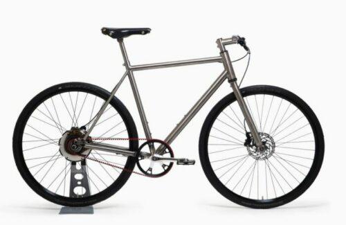 Le vélo urbain électrique Nua Electrica Bike+ qui se recharge en roulant sans batterie