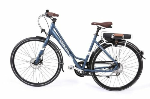 Le vélo Norauto WAYSCRAL Hybrid 25% plus léger qu'un VAE