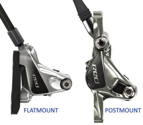 La différence entre le montage Flatmount et Postmount