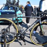 Le vélo de Peter Sagan lors du Paris Roubaix 2019
