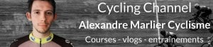 Présentation du cycliste Alexandre Marlier