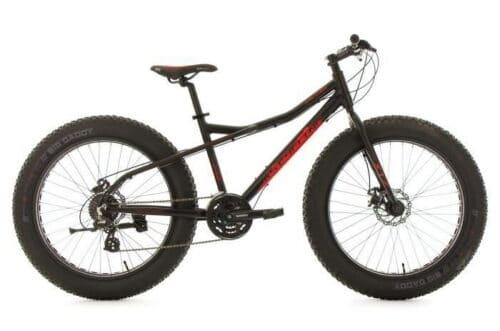 Fatbike 26'' SNW2458 noir TC 46 cm KS Cycling