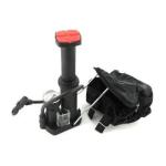 Mini pompe à pied pliable avec indicateur manomètre
