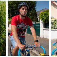 Présentations des 3 T-shirts cyclisme de la boutique CommeUnVelo
