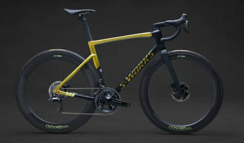 Un vélo route Specialized S-Works Tarmac SL7 - Sagan Collection