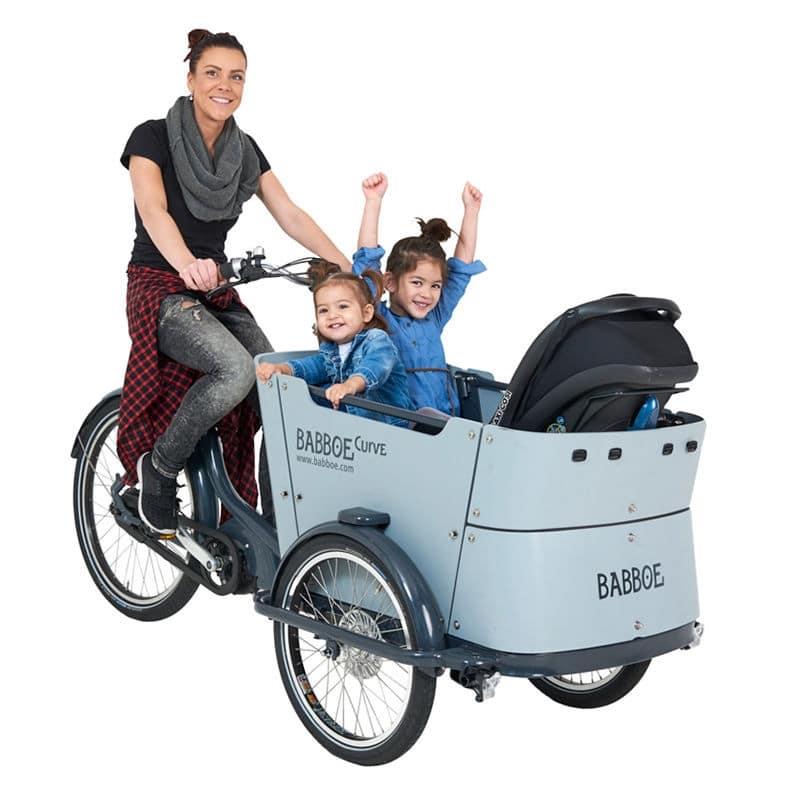 babboe Curve Mountain vélo cargo électrique