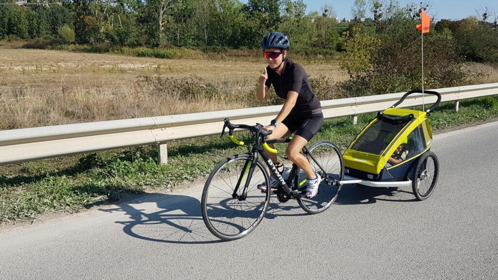 Remorque Croozer enfant Kid 1 mono-place pour vélo