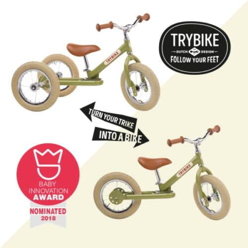 TryBike France passer de 3 roues à 2 roues pour une draisienne