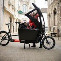 Vélo cargo électrique Douze Cycles G4