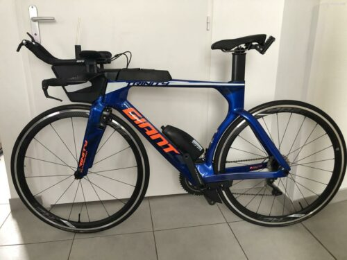 Vélo Giant de Triathlon : Trinity Advanced