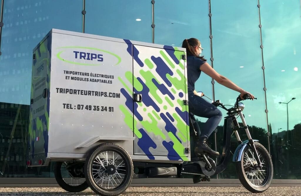 Un triporteur Made in France pour transporter des objets
