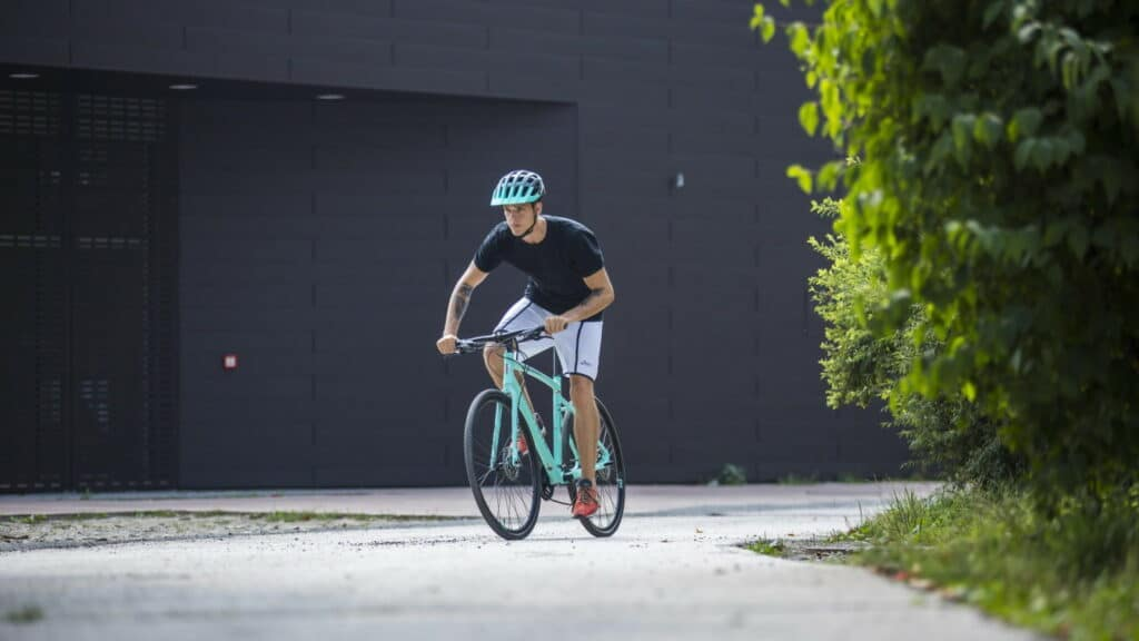 Le vélo de vile sportif pour vélotaf : Bianchi C-Sport