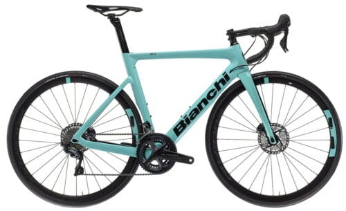 Un vélo Bianchi Aria