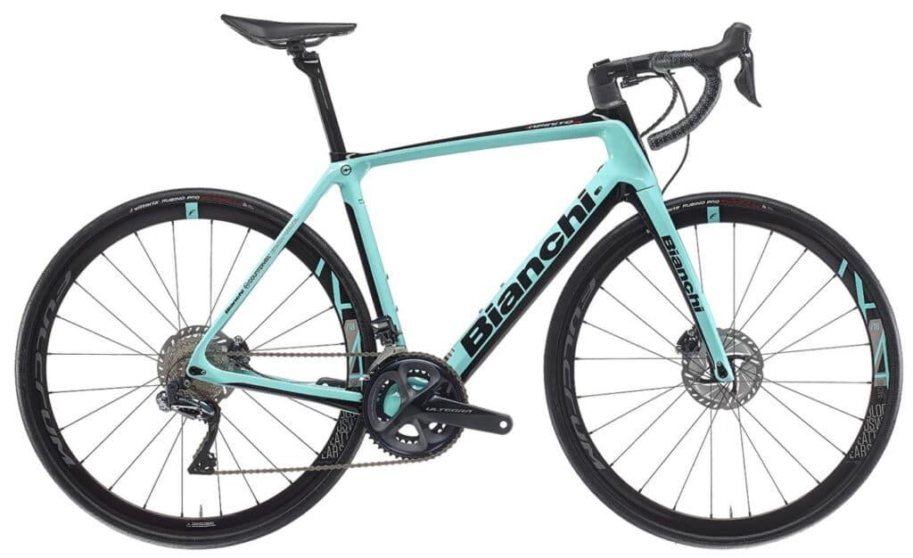 Le vélo d'endurance Bianchi : Infinito