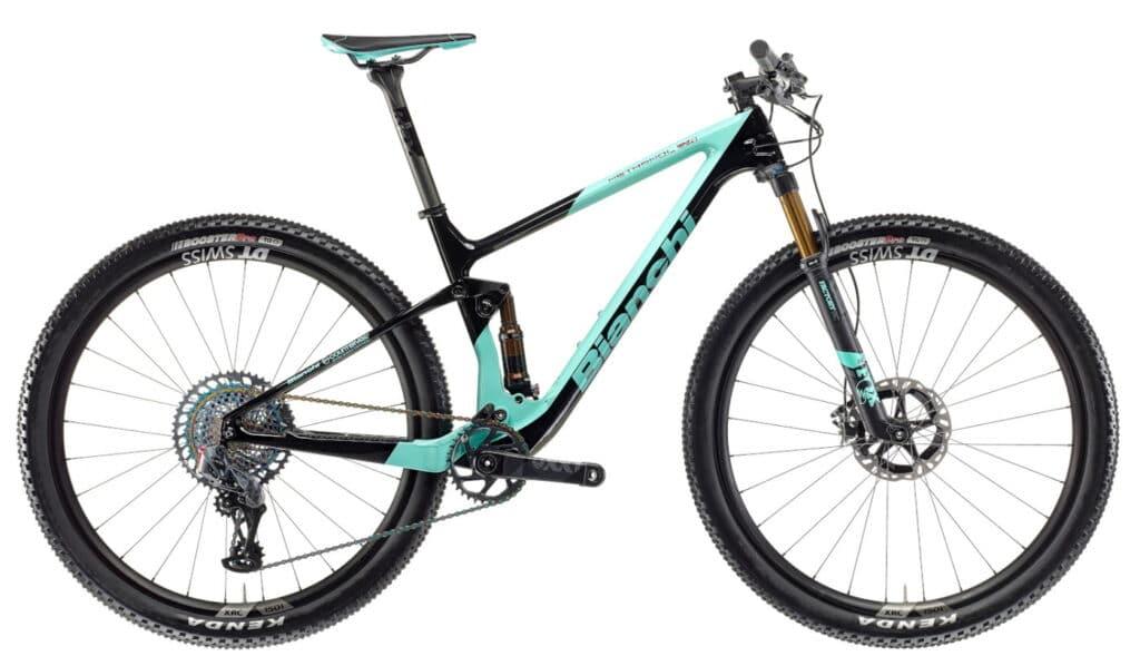 Le vélo de cross-country Bianchi : Methanol