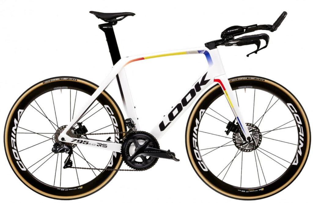 Vélo Look de triathlon 795 BLADE RS DISC TT PROTEAM