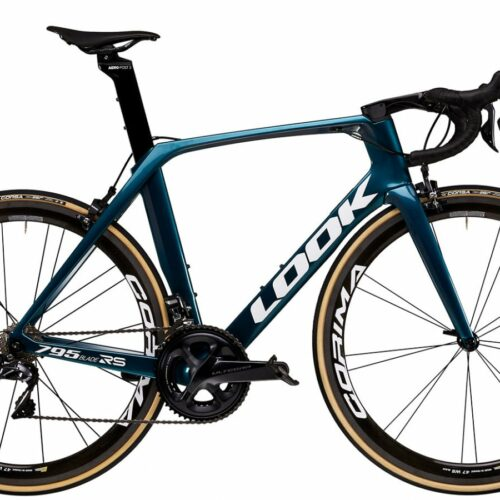 Un superbe vélo Look 795 BLADE RS METALLIC BLUE GLOSSY