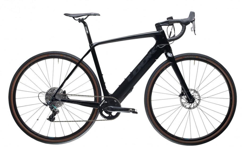 Le vélo Look E-765 GRAVEL Full Black