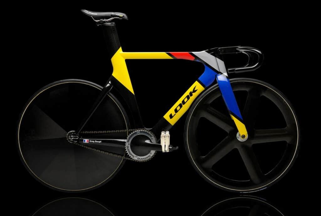 Le vélo de piste des JO de Londres avec le Look L96