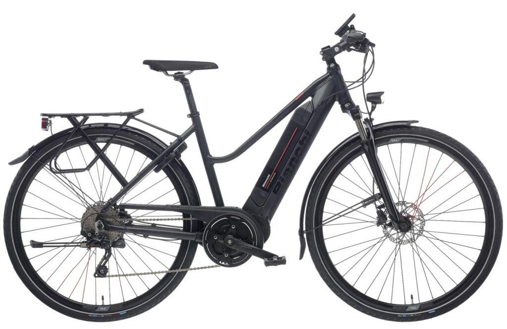 Le vélo de ville électrique Bianchi : E-Spillo