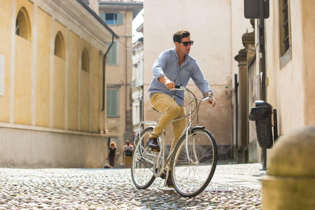 Le vélo Vintage Bianchi pour la ville : Venezia